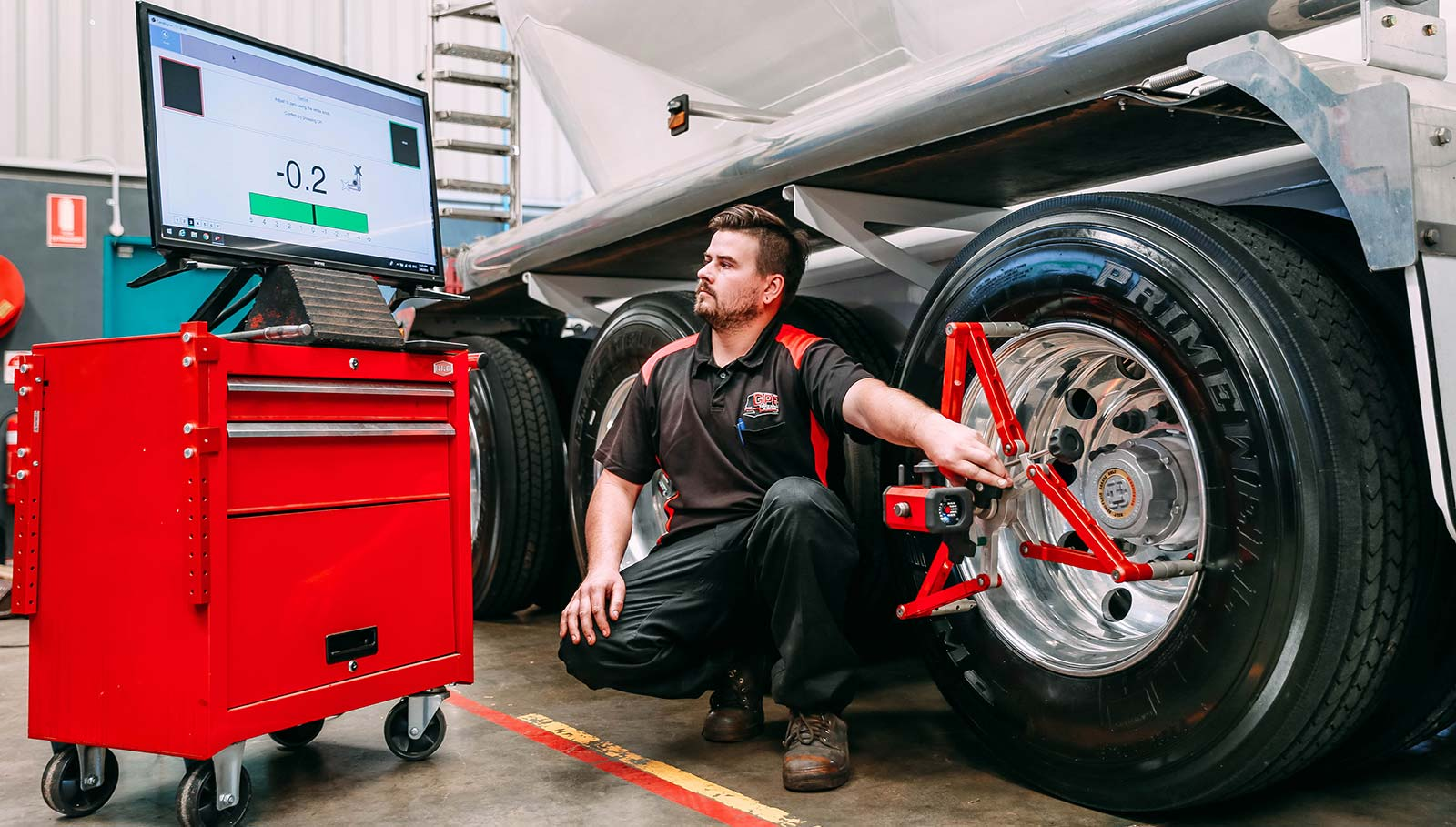 Truck Wheel Alignment